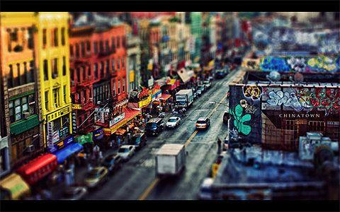 so cool.Miniatures, Photos, Tilt Shift Photography, Favorite Places, Cities, Colors, Chinatown, Tiltshift Photography, Picturestilt Shift