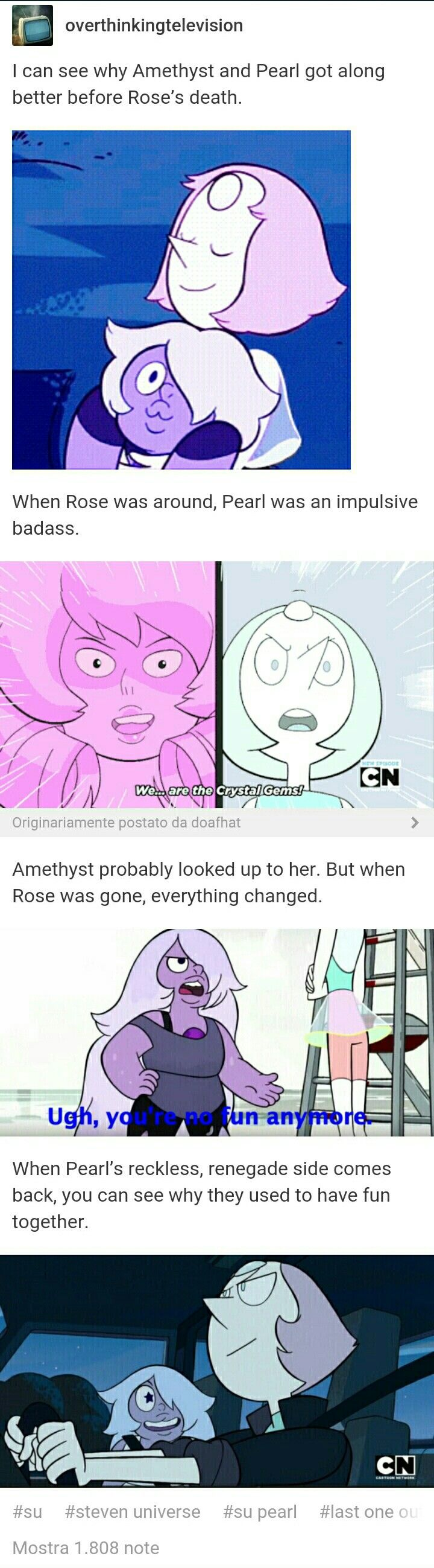 Needing flashbacks over here (Side note: Pearl's jacket in the last frame is the only item of clothing I ever want to put on my body)