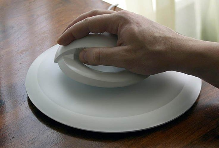 Carpal tunnel solution levitating mouse wireless