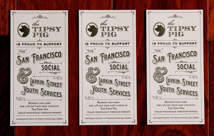 JVK Design - Tipsy Pig Cards