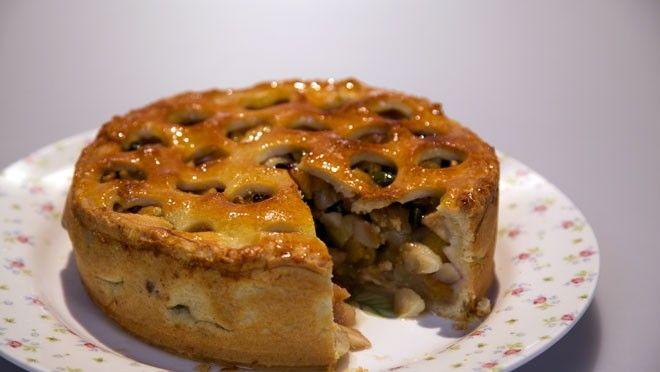 Perentaart met noten - Rudolph's Bakery | 24Kitchen