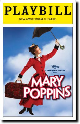 Based on 'Mary Poppins' by PL Travers