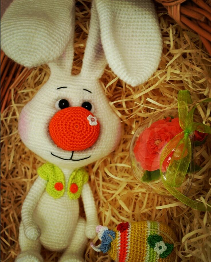 "Crochet toy amigurumi ""Sunny Bunny"" by KnittingToysArt on Etsy https://www.etsy.com/listing/507657581/crochet-toy-amigurumi-sunny-bunny"