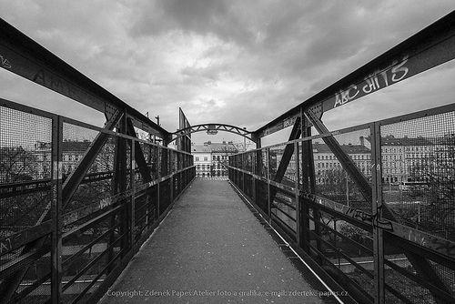 Prag Eiserne Brücke