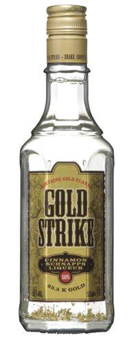 Gold Strike 15,99  Goldstrike is herkenbaar aan zijn goud in de fles. Goldstrike komt het beste tot zijn recht als je deze puur drinkt. Dat kan gekoeld maar ook ongekoeld zijn. Daarnaast kan je Goldstrike ook goed mixen met bv wodka, tonic of fanta.