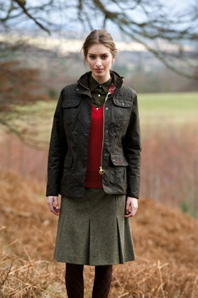 Love this fall English country look. Perfect for autumn!