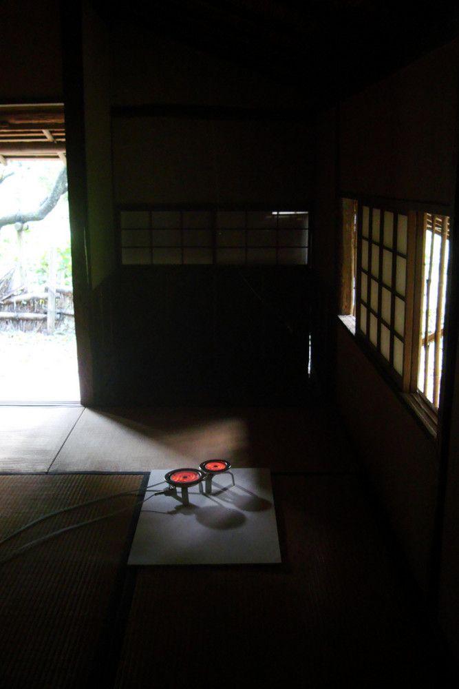 内藤礼|無題(母型)2008年 横浜トリエンナーレ2008 三渓園