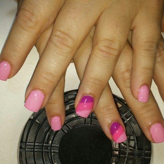 Strisce rosa pink