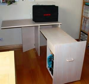 ikea sewing rooms sewing machine cabinets and sewing on pinterest. Black Bedroom Furniture Sets. Home Design Ideas
