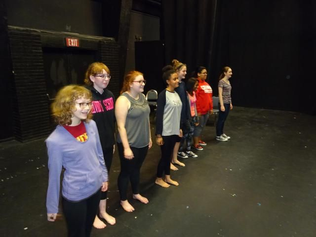 """""""Here We Come"""" is a theatre game that's been around awhile. Also called """"The New York Game,"""" it gets students miming and moving."""