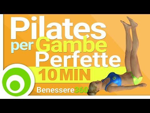 Pilates per Dimagrire e Tonificare - YouTube