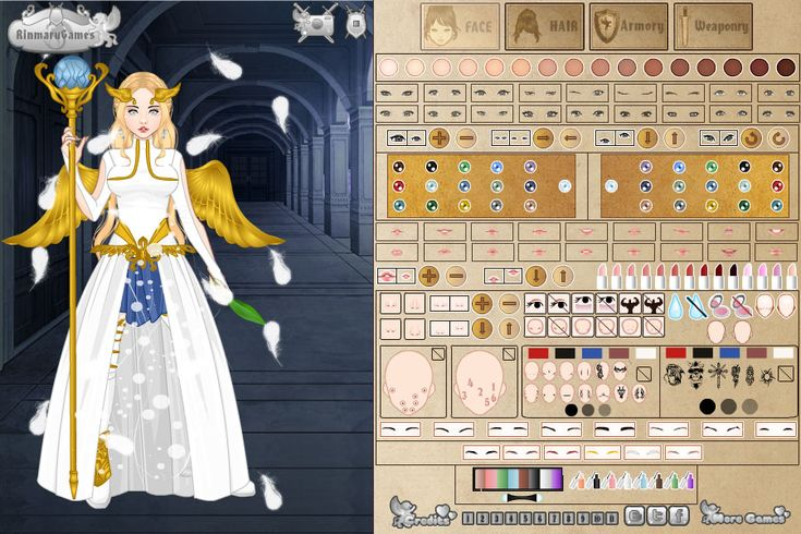 Video Game Avatar Creator Screen shot 1   where you can make your own