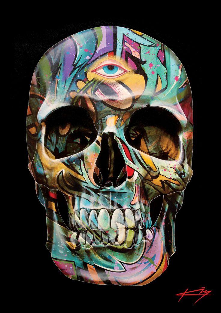 The Mystic by Gerrard King | Skulls | Pinterest