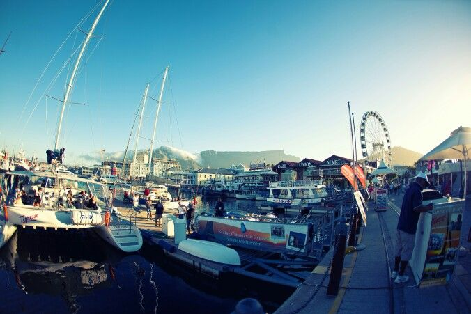 The Waterfront. Cape Town. SA