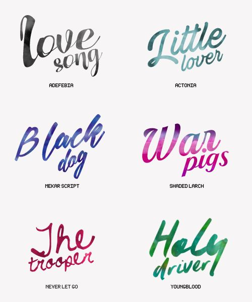 Yourfonts on Tumblr