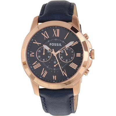 Buy Fossil FS4835 Blue Round Chronograph Watch by E TRADERS RETAIL, on Paytm, Price: Rs.9490?utm_medium=pintrest