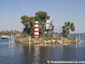 Monkey Island in Homosassa, Florida