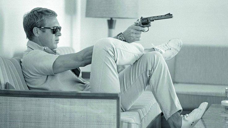 Badass Steve McQueen [1920x1080] : wallpaper