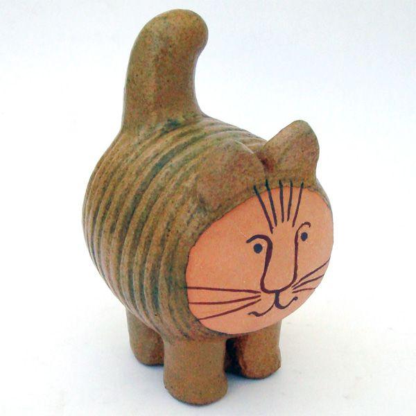 vintage cat by lisa larsonLarson Cat, Ceramics Design, Vintage Animal, Pottery Cat, Larson Vintage, Design Lisa, Animal Ceramics, Vintage Cat, Lisa Larson