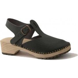 Love these handmade ethical clogs! The wooden soles are made from one log, split in two - so cool!