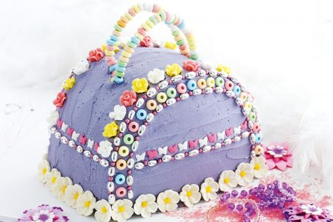 How to make a Handbag Birthday Cake