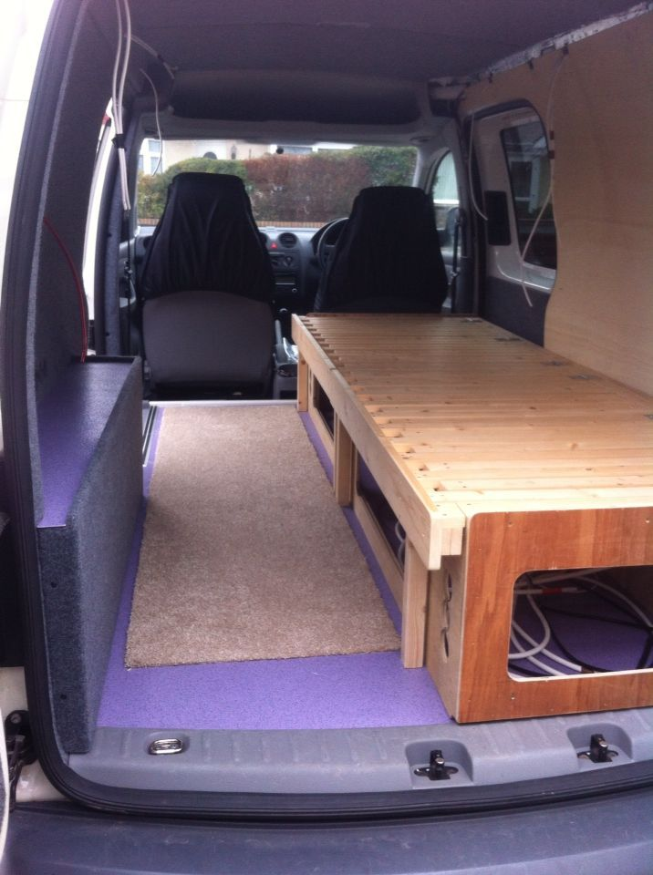 Image result for vw caddy maxi van conversion