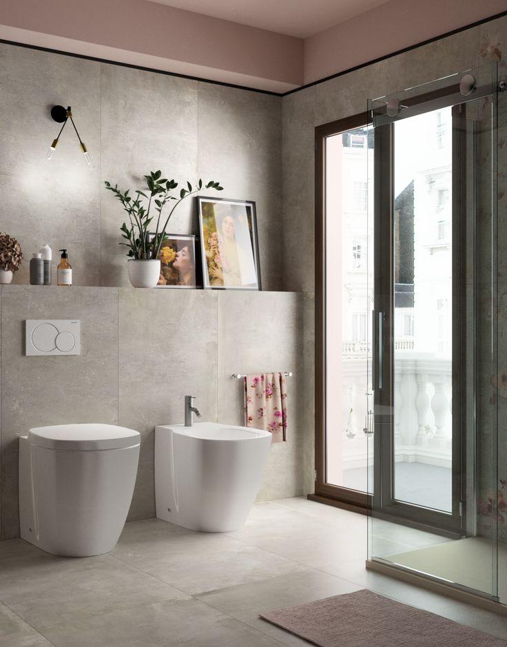 Porta doccia scorrevole Skyline porta 120 cm, H 200 cm in