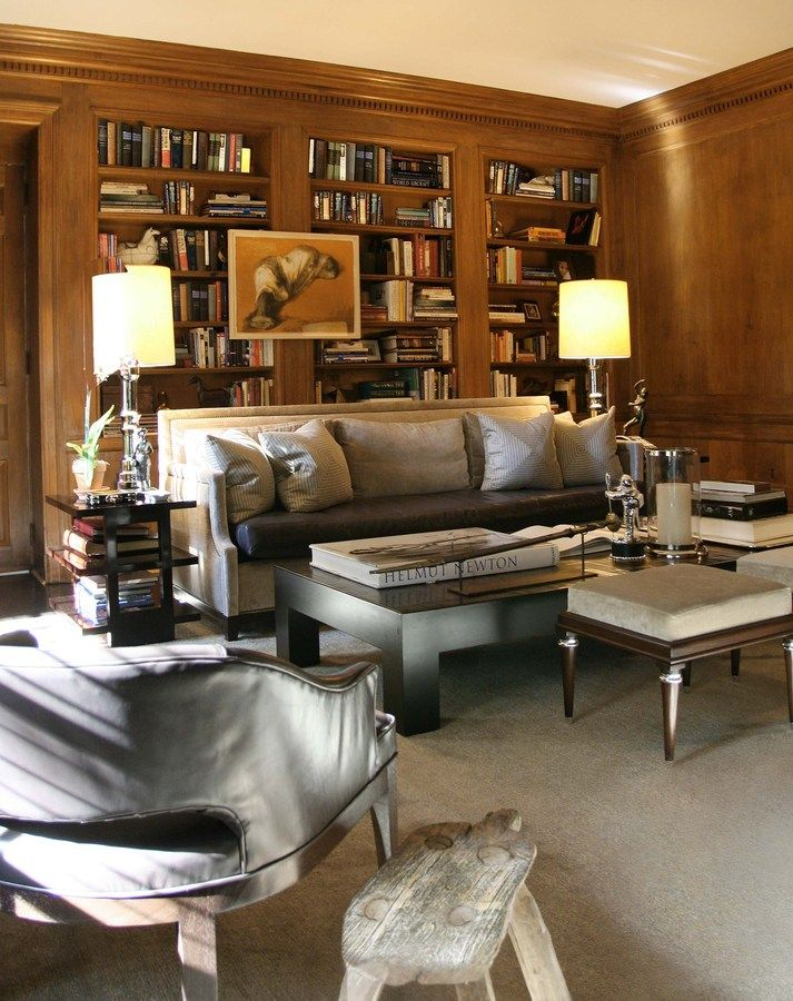 Vogue Living - Office - Den - Library