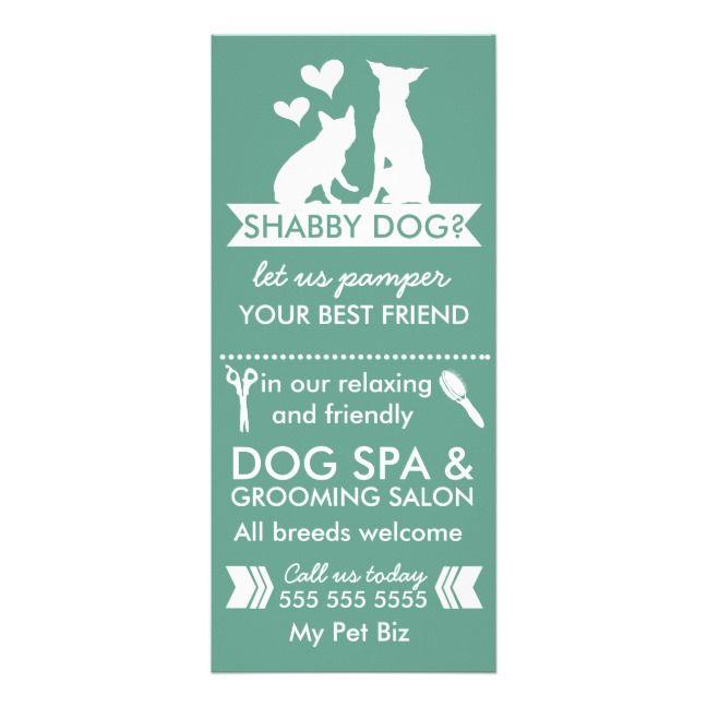 Dog Groomer Rack Card And Menu Zazzle Com Dog Groomers Groomer Grooming Salon