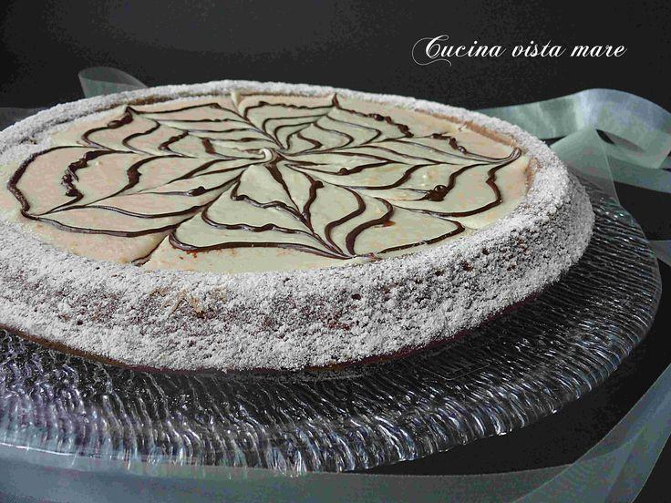 Crostata+morbida+con+crema+al+cocco