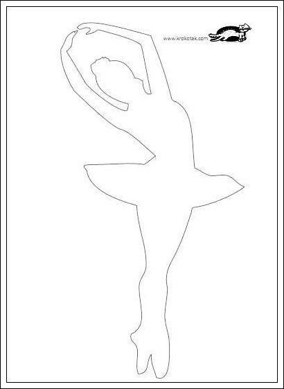 pin the tutu on the ballerina template - 93 best images about ballet templates on pinterest
