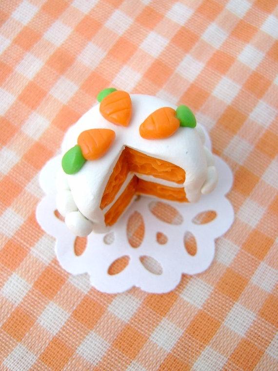 Carrot cake!! Adorable!