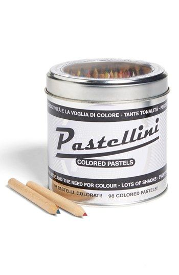 'Pastellini' Pastel Colored Pencils in a Can