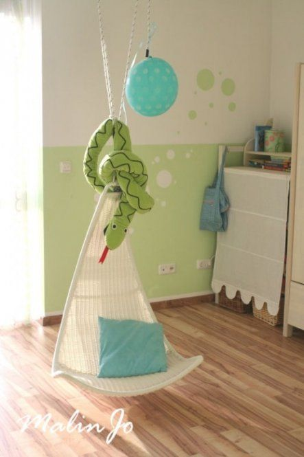 Kinderzimmer 'Green Room' Muster an Wand