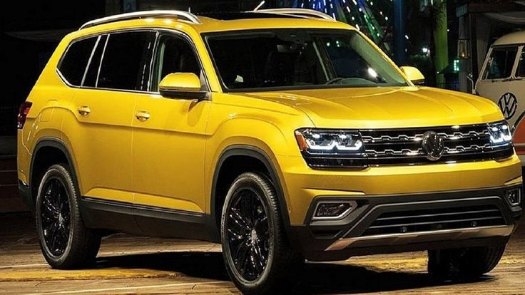 KING SUV - 2017 Volkswagen Atlas - INterior and exterior In Action