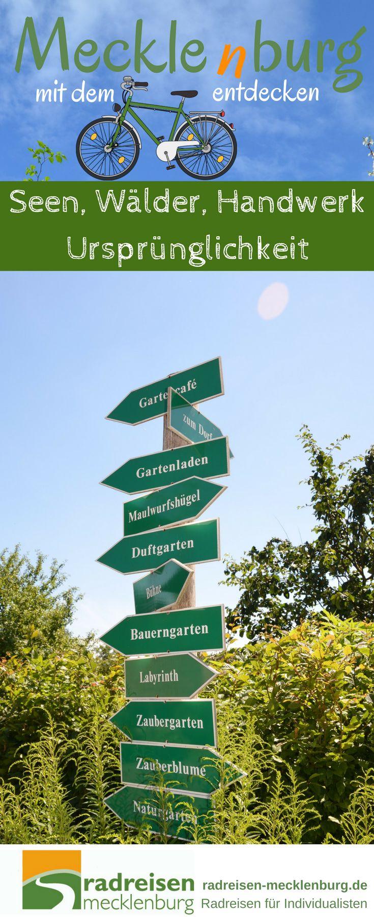 """Lassen Sie sich von den Wäldern des #Müritz-#Nationalparks, den wunderschön gelegenen Seen und den weitläufigen Feldern und Wiesen gefangen nehmen! """"Erfahren"""" Sie kleine Museen und Stätten mecklenburgischer Handwerkstraditionen. Sie erleben bei dieser #Radrundreise die lebendigen Zentren der Seenplatte, aber auch das stille und eher unbekannte #Mecklenburg. Freuen Sie sich auf eine überaus abwechslungsreiche Tour!"""