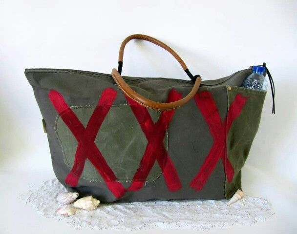 XXL Beach bag 'XXX'