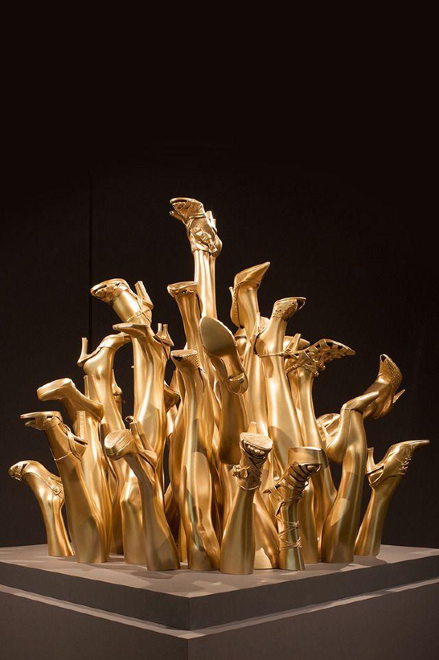 My dear @Pilar Diaz Suarez Diaz Suarez Blasco ;  'Medusa's Shoes' by John Breed. Grassi Museum, Leipzig Germany.