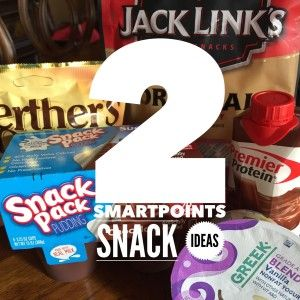 Here are my favorite ready to eat snacks for the weight watchers smartpoints program. Each of these has 2 smart points.