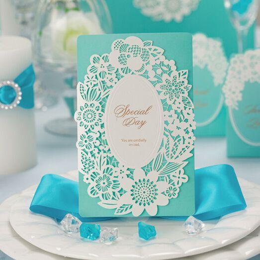 invitación de boda elegantes turquesa - Buscar con Google