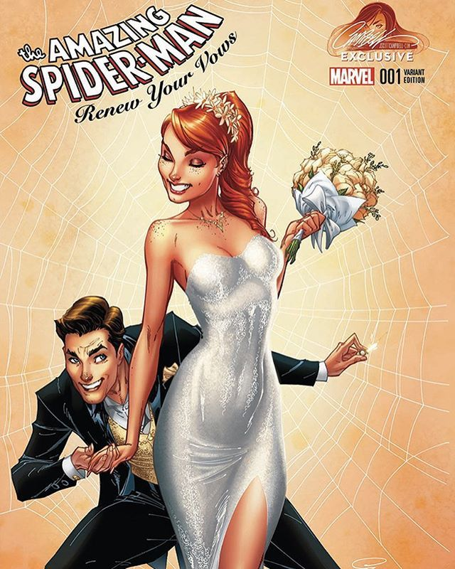 The AMAZING-SPIDER-MAN: Renew Your Vows #1 is now LIVE! at jscottcampbell.com