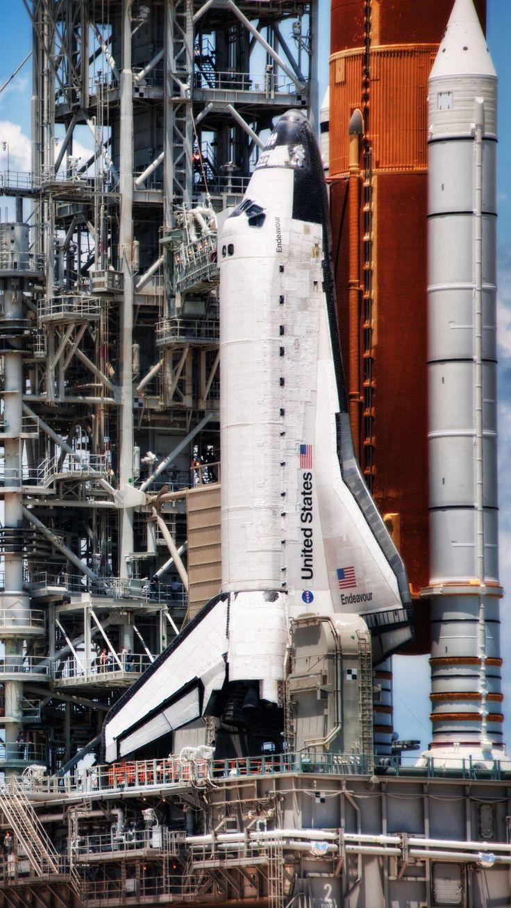 Launching Pad Spaceport Shuttle | Smart Phone Wallpapers  #4kphonewallpapersredd…