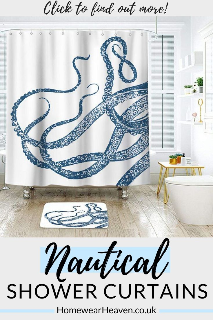 Nautical Shower Curtains The Whole Family Will Love In 2020