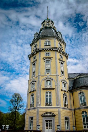 Good Schlossturm Karlsruhe Karlsruhe Palace Tower Germany