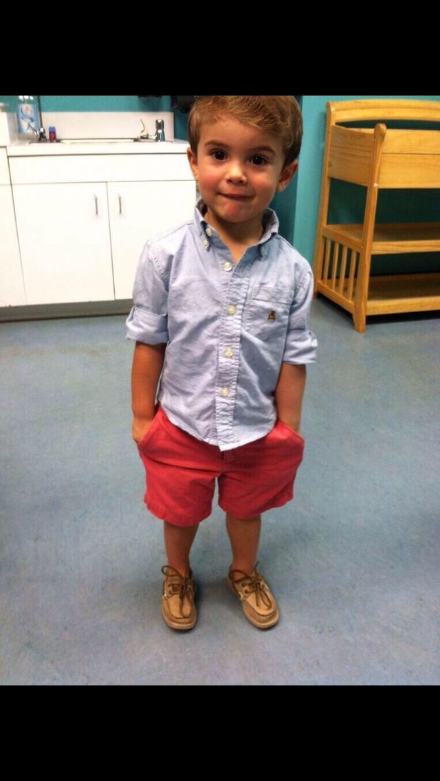 My son will totes be a mini frat boy