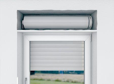 Roka Thermo Flex - Il sistema isolante si fissa perfettamente nel vano cassonetto esistente. I nuovi segmenti a T garantiscono un miglior isolamento termico