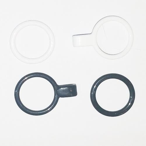 Racerback Bra conversion  Plated Metal Set of O Rings