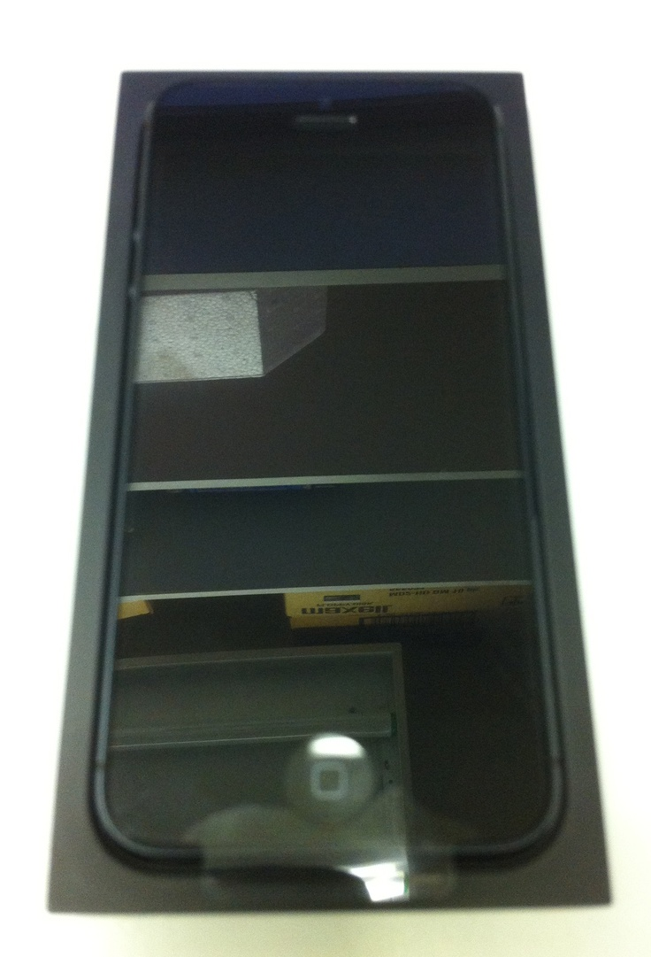 My shiny new iPhone 5, 32GB black, factory unlocked.