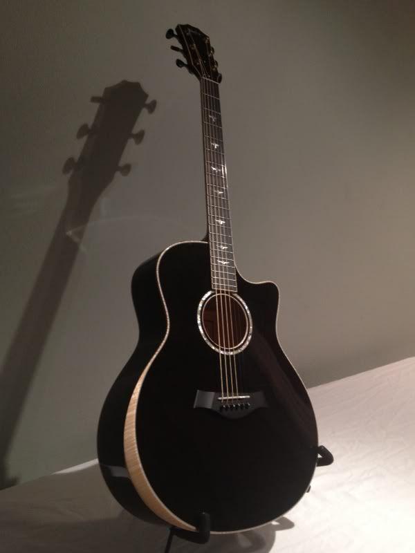Custom Taylor Gs Trans Black Maple Arm Rest Images The Acoustic Guitar Forum Yamaha Guitar Fender Acoustic Guitar Best Acoustic Guitar