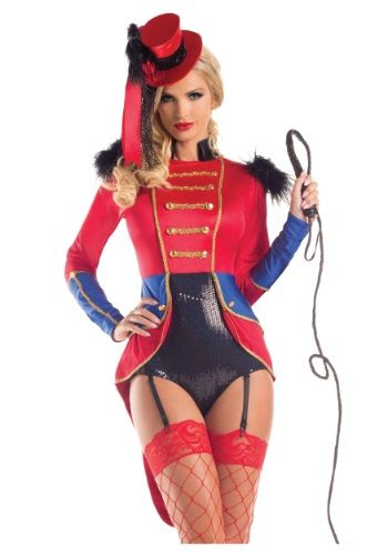 This sexy lion tamer costume is just what you need to own the spotlight! You're sure to dazzle everyone while commanding their attention.
